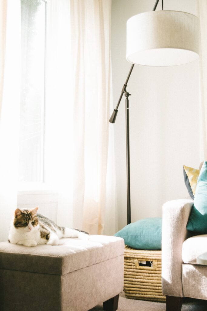 Closing curtains can safe energy and lower utility bills.